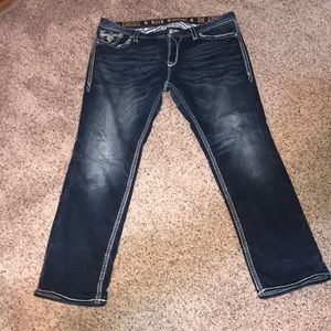 Easy Skinny Rock Revival Jeans